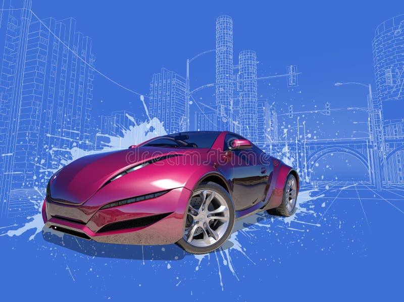 έννοια αυτοκινήτων διανυσματική απεικόνιση