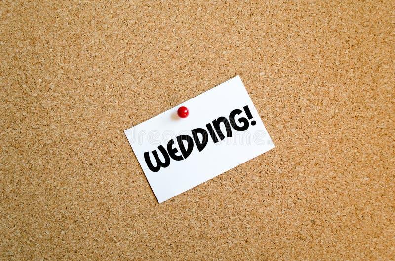 Έννοια γαμήλιων κειμένων στοκ φωτογραφίες