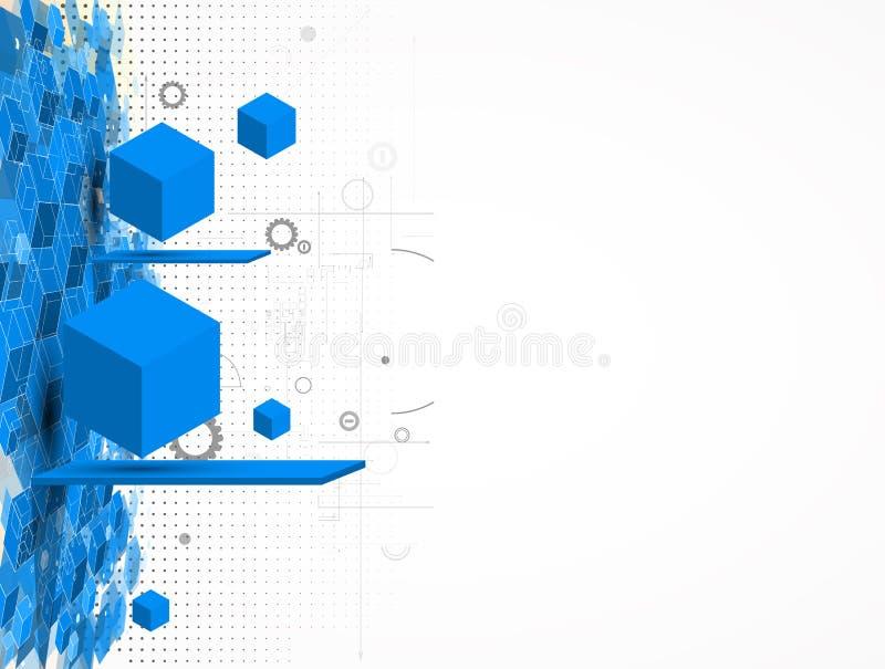 Έννοια για την εταιρικές επιχείρηση & την ανάπτυξη νέας τεχνολογίας ελεύθερη απεικόνιση δικαιώματος
