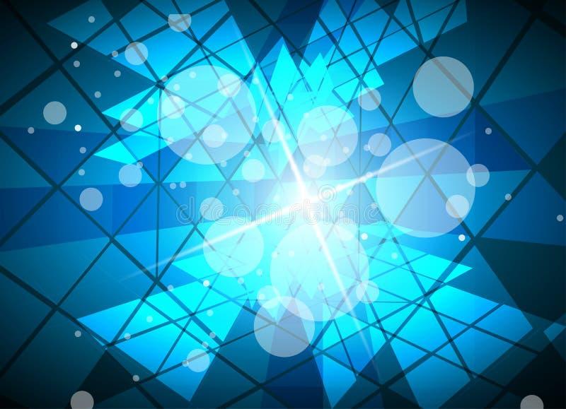 Έννοια για την εταιρικές επιχείρηση & την ανάπτυξη νέας τεχνολογίας διανυσματική απεικόνιση