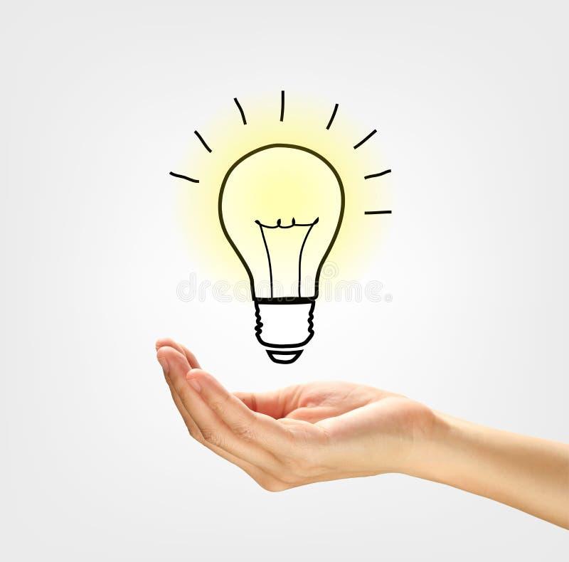 Έννοια για την ιδέα και δημιουργικός στοκ εικόνες
