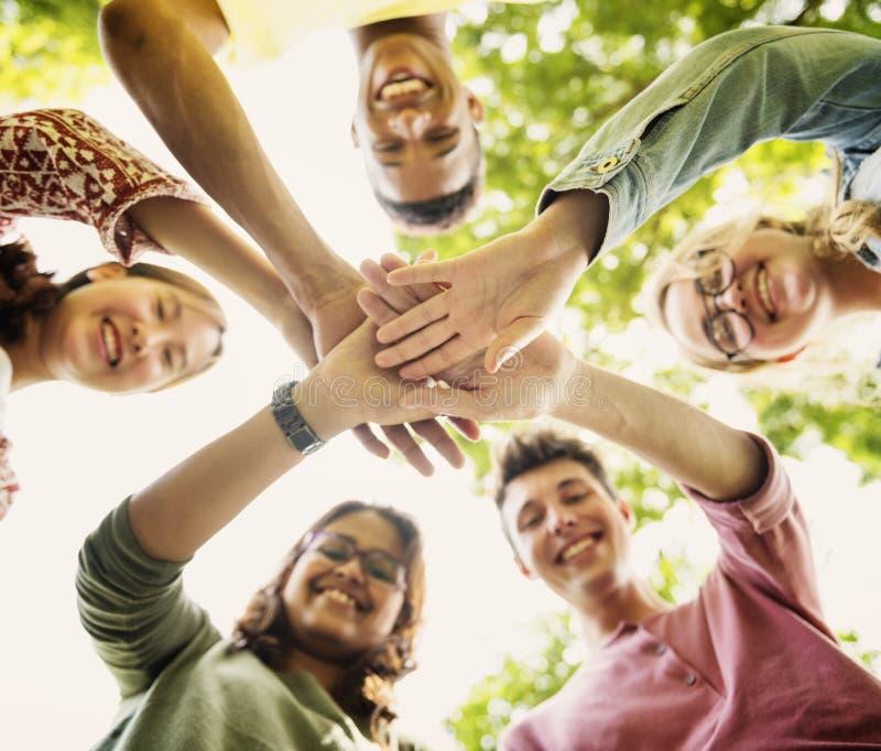 Έννοια γνώσης ανθρώπων σπουδαστών εκπαίδευσης στοκ εικόνες με δικαίωμα ελεύθερης χρήσης