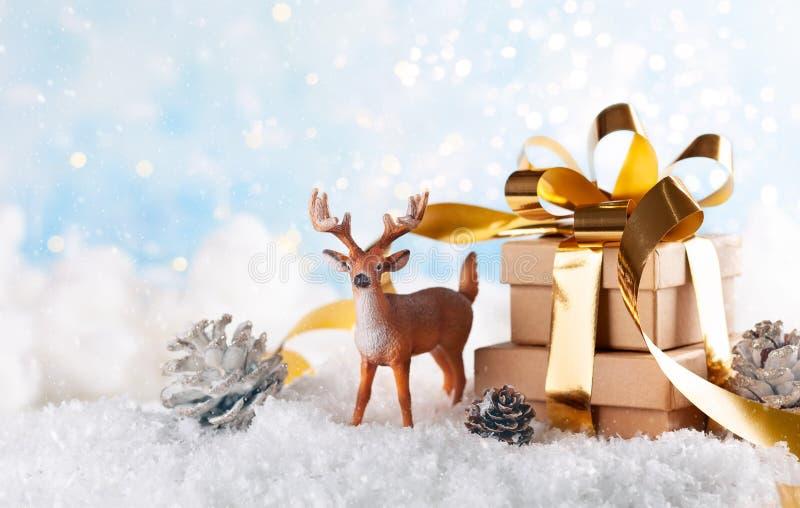 Έννοια διακοπών Χριστουγέννων στοκ εικόνα με δικαίωμα ελεύθερης χρήσης