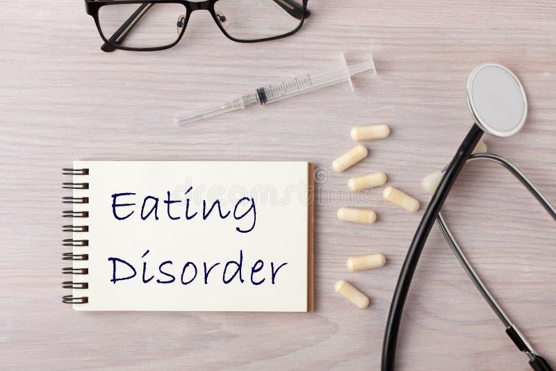 Έννοια διατροφικής διαταραχής στοκ φωτογραφία με δικαίωμα ελεύθερης χρήσης