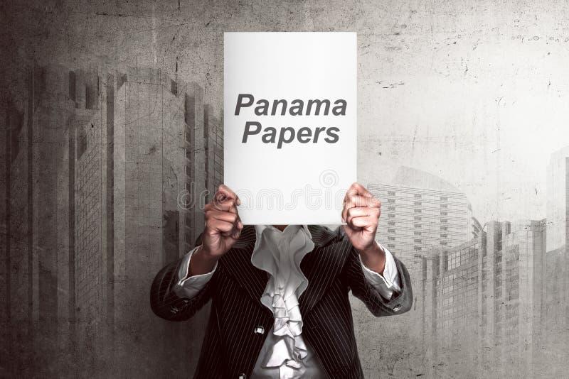 Έννοια εγγράφων του Παναμά στοκ φωτογραφίες με δικαίωμα ελεύθερης χρήσης