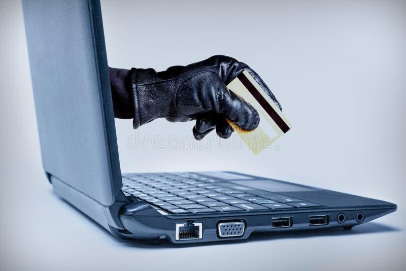Έννοια εγκλήματος Cyber στοκ εικόνα με δικαίωμα ελεύθερης χρήσης