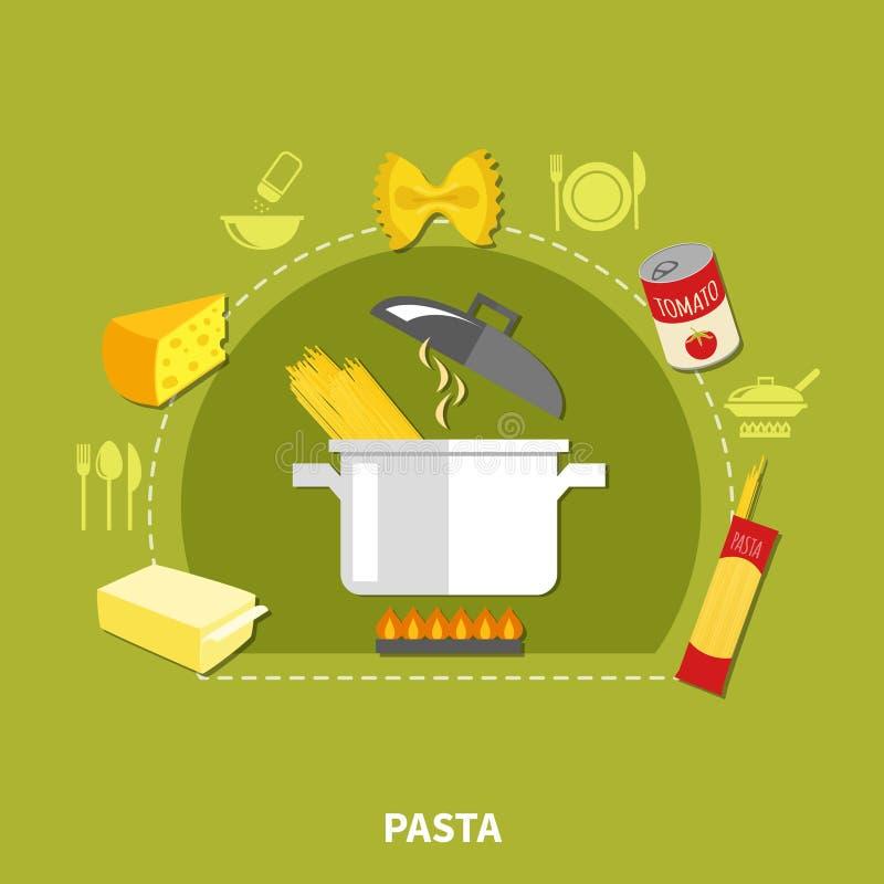 έννοια εγχώριου μαγειρέματος απεικόνιση αποθεμάτων