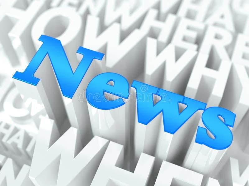 Έννοια ειδήσεων. ελεύθερη απεικόνιση δικαιώματος
