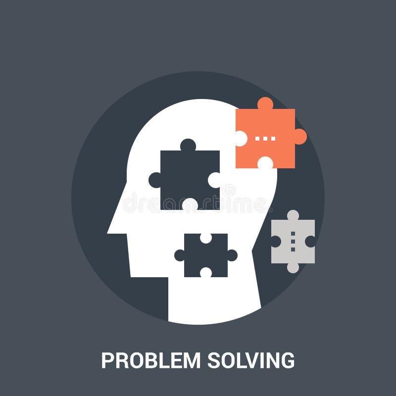 Έννοια εικονιδίων επίλυσης προβλήματος διανυσματική απεικόνιση