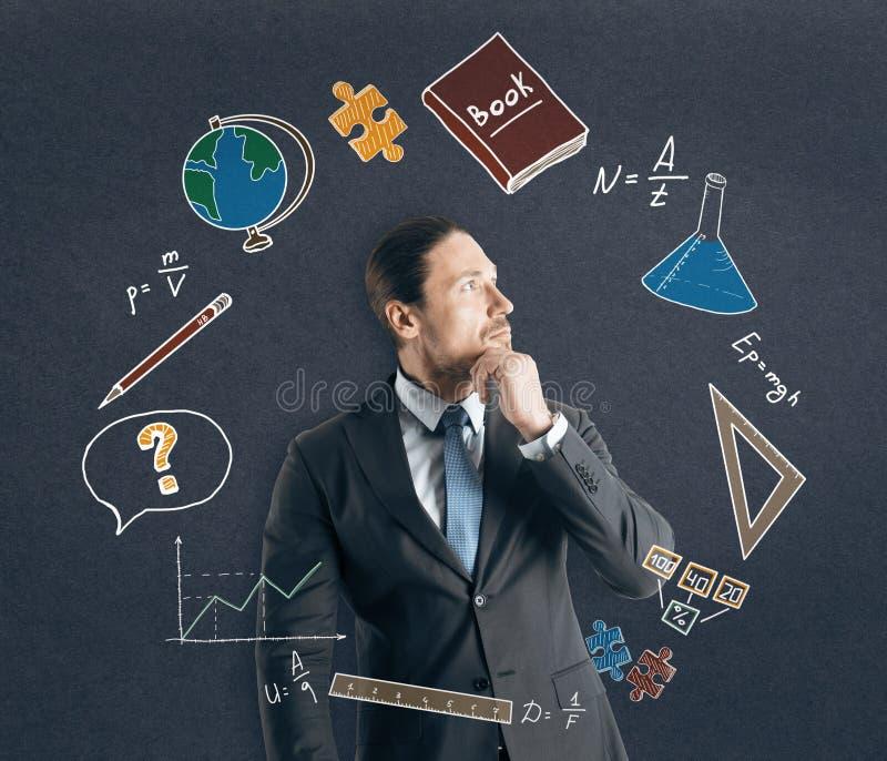 Έννοια εκπαίδευσης και επιστήμης στοκ φωτογραφία με δικαίωμα ελεύθερης χρήσης
