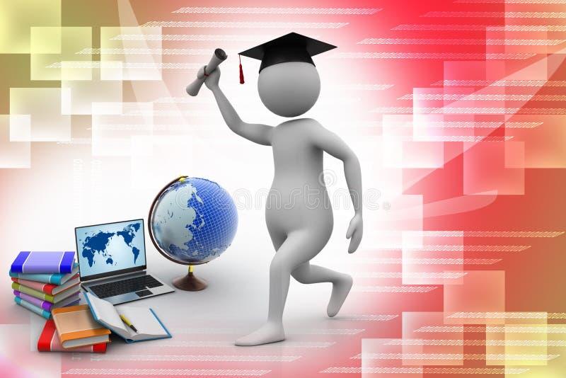 Έννοια εκπαίδευσης ελεύθερη απεικόνιση δικαιώματος