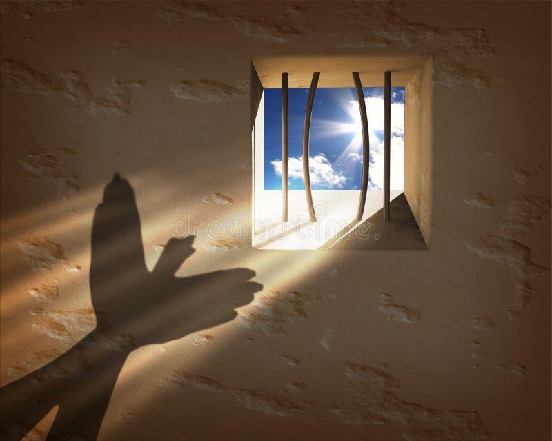 Έννοια ελευθερίας στοκ φωτογραφία