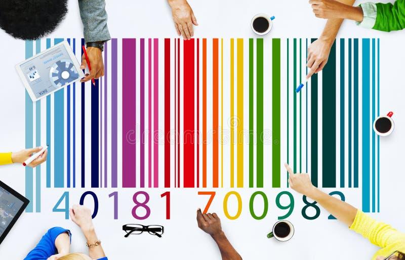 Έννοια εμπορευμάτων τιμών κώδικα φραγμών στοκ φωτογραφίες με δικαίωμα ελεύθερης χρήσης