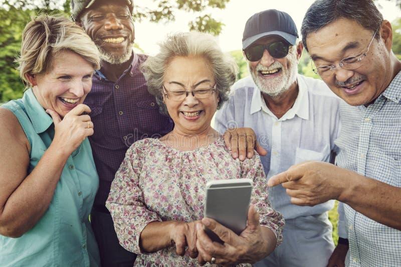 Έννοια ενότητας τεχνολογίας τηλεπικοινωνιών στοκ εικόνες