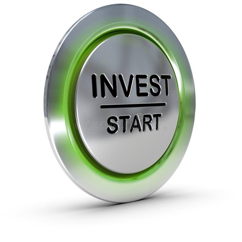 Έννοια επένδυσης. Επενδύστε. Διαχείρηση κινδύνων απεικόνιση αποθεμάτων