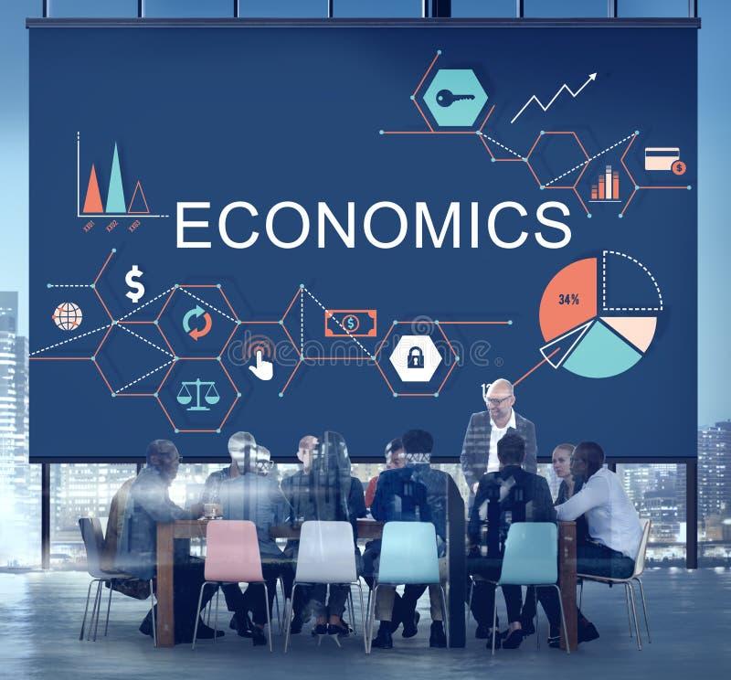 Έννοια επένδυσης επιχειρησιακών οικονομική προϋπολογισμών οικονομικών στοκ εικόνες