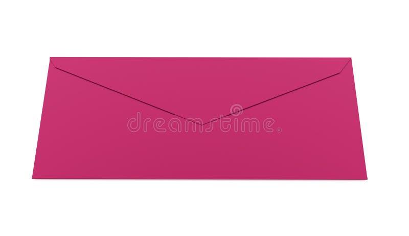 Έννοια επιστολών φακέλων που δίνεται στο λευκό ελεύθερη απεικόνιση δικαιώματος