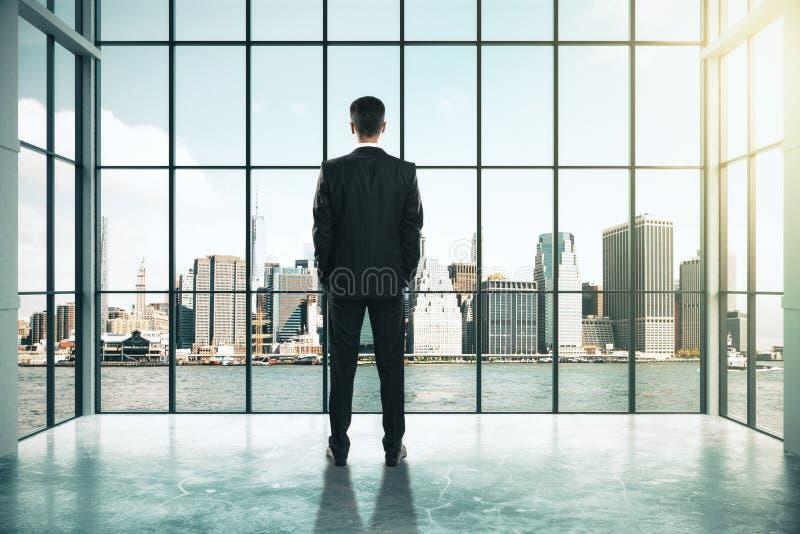 Έννοια επιτυχίας και έρευνας διανυσματική απεικόνιση