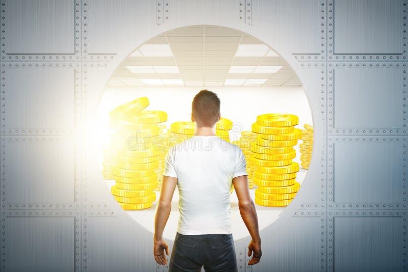 Έννοια επιτυχίας και χρηματοδότησης στοκ εικόνα με δικαίωμα ελεύθερης χρήσης
