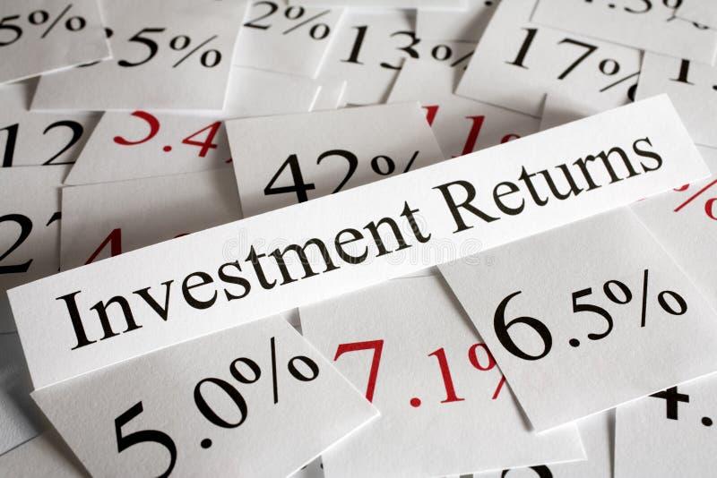 Έννοια εσόδων από επενδύσεις στοκ εικόνες με δικαίωμα ελεύθερης χρήσης