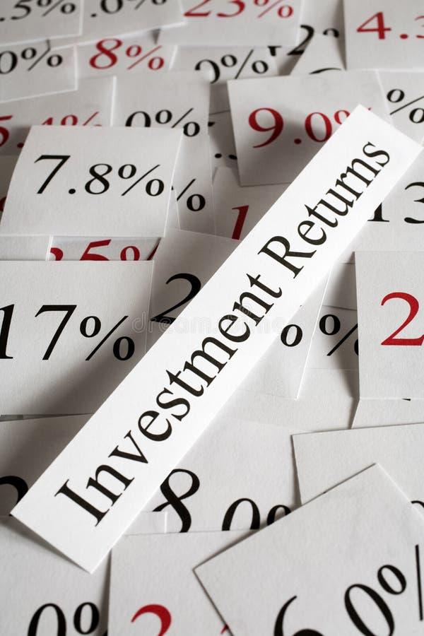 Έννοια εσόδων από επενδύσεις στοκ φωτογραφία με δικαίωμα ελεύθερης χρήσης