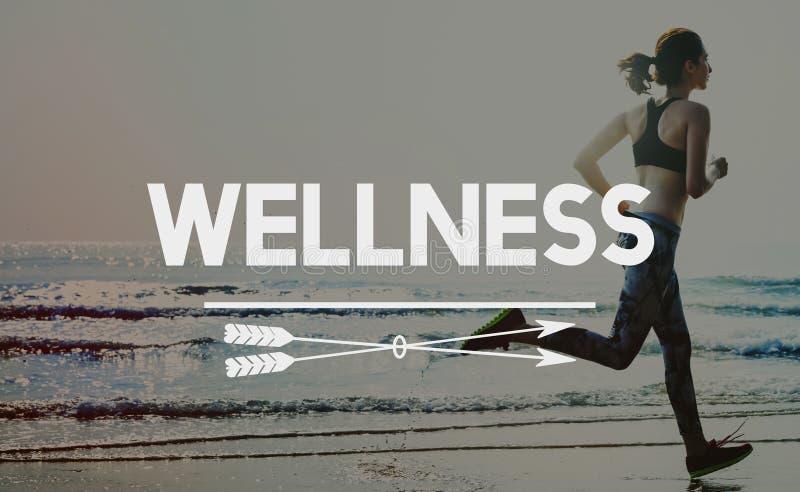 Έννοια ευημερίας αθλητικού Workout Wellness άσκησης στοκ εικόνες με δικαίωμα ελεύθερης χρήσης