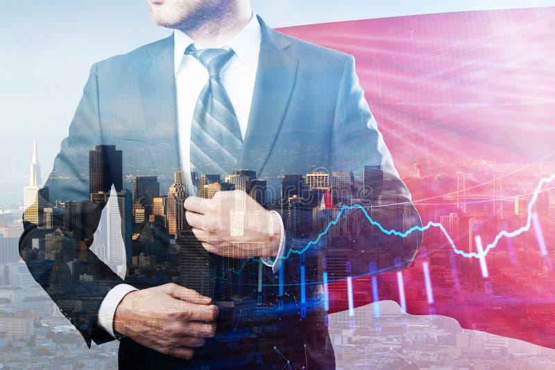 Έννοια ηγεσίας και εμπορίου στοκ εικόνες