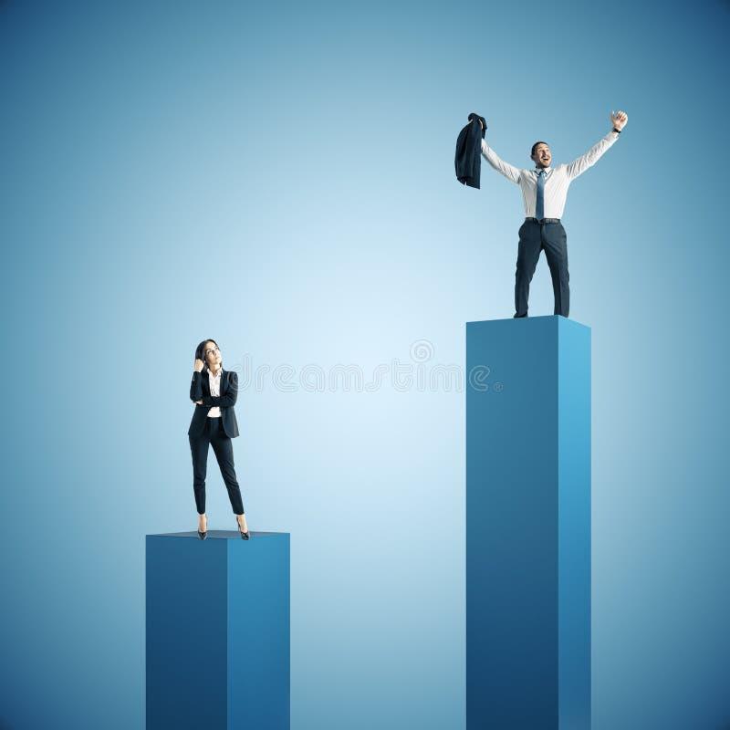 Έννοια ηγεσίας και επιτυχίας στοκ εικόνες