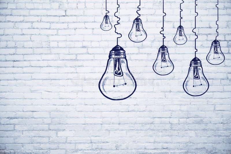 Έννοια ιδέας, καινοτομίας και επιτεύγματος ελεύθερη απεικόνιση δικαιώματος