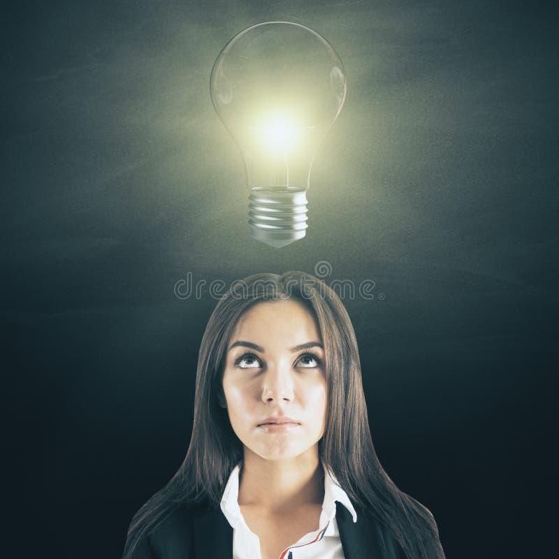 Έννοια ιδέας και λύσης στοκ εικόνα με δικαίωμα ελεύθερης χρήσης