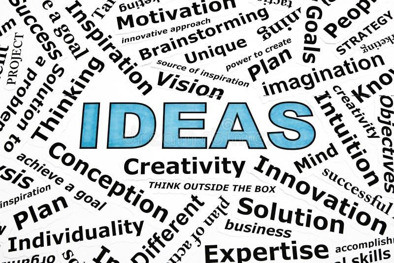 Έννοια ιδεών στοκ εικόνες με δικαίωμα ελεύθερης χρήσης
