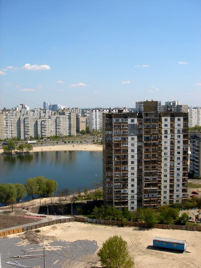 έννοια Κίεβο πόλεων στοκ εικόνα με δικαίωμα ελεύθερης χρήσης