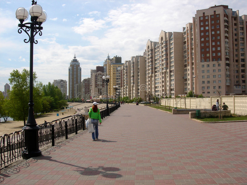 έννοια Κίεβο πόλεων στοκ φωτογραφίες με δικαίωμα ελεύθερης χρήσης