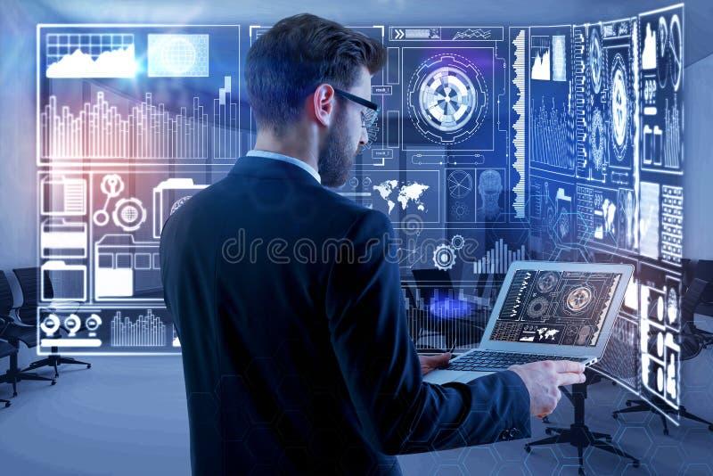 Έννοια καινοτομίας και analytics στοκ εικόνες