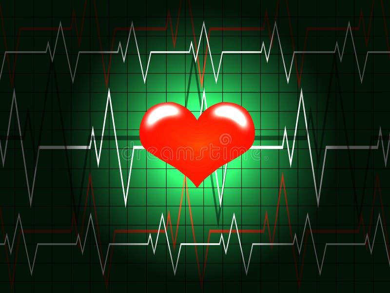 έννοια καρδιολογίας ελεύθερη απεικόνιση δικαιώματος