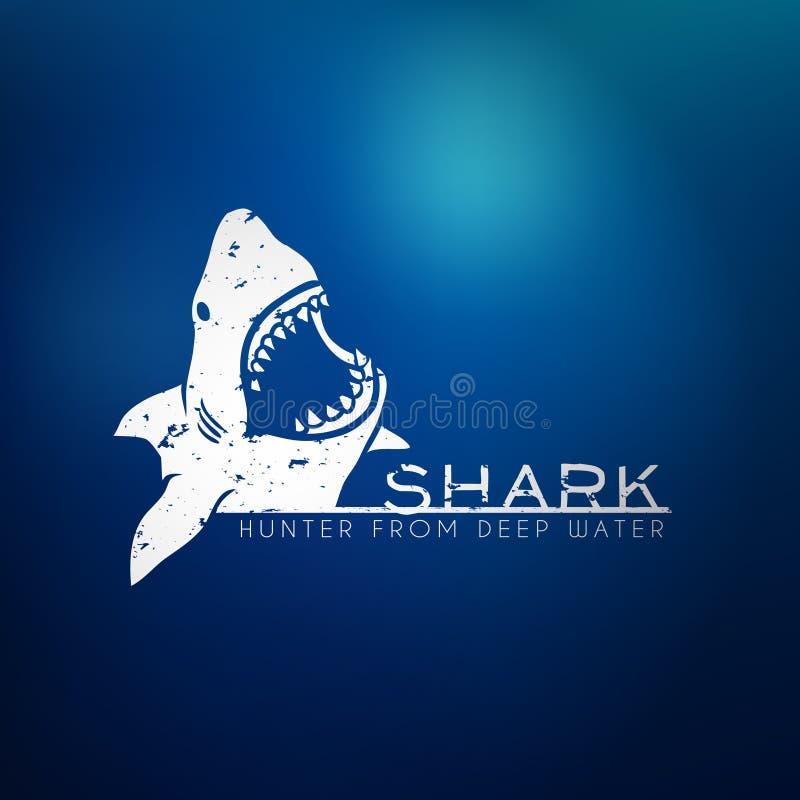 Έννοια καρχαριών ελεύθερη απεικόνιση δικαιώματος