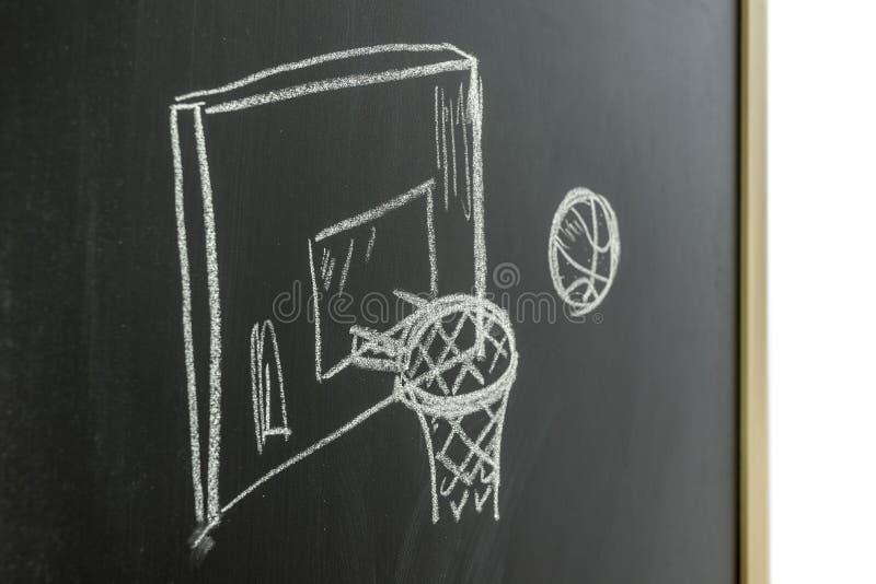 Έννοια καλαθοσφαίρισης στοκ εικόνες