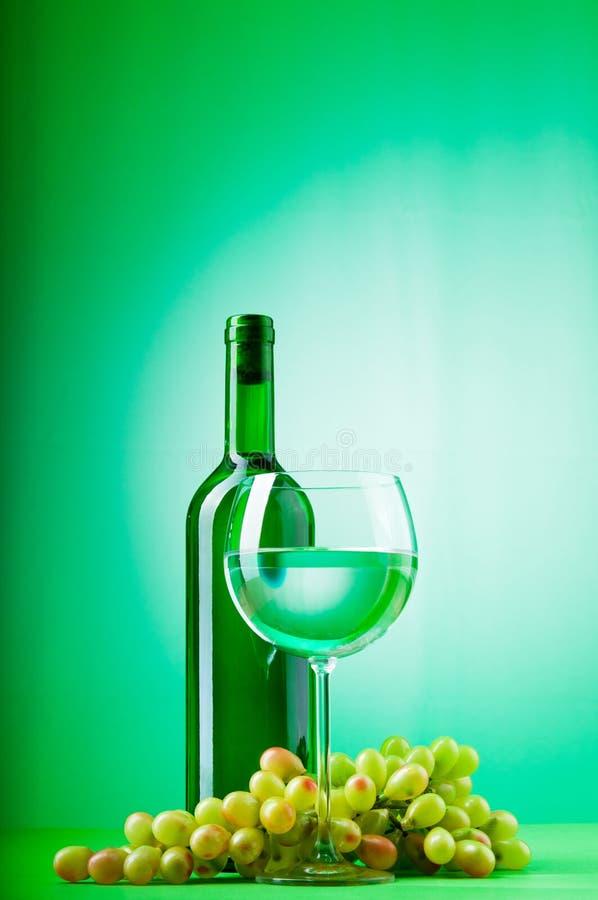 Έννοια κρασιού με την κλίση στοκ φωτογραφίες με δικαίωμα ελεύθερης χρήσης