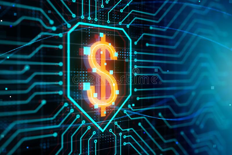 Έννοια μάρκετινγκ και χρηματοδότησης διανυσματική απεικόνιση