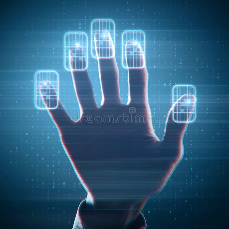 Έννοια μέλλοντος και τεχνολογίας στοκ εικόνες