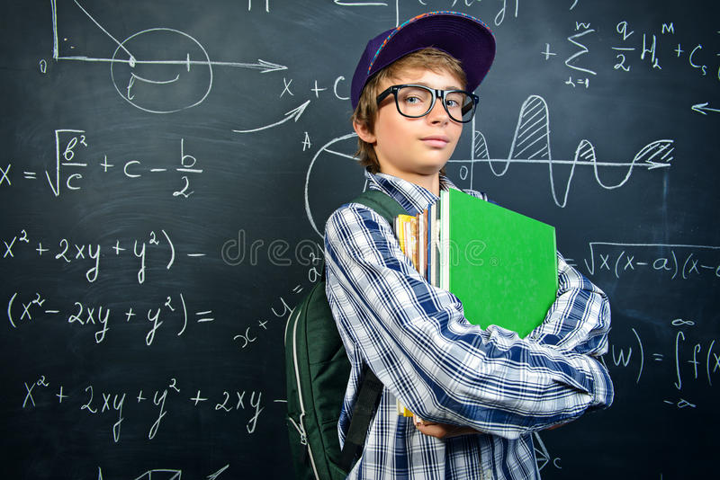 Έννοια μαθηματικών στοκ εικόνα με δικαίωμα ελεύθερης χρήσης