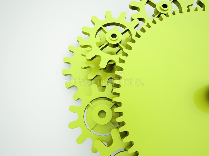 Έννοια μηχανισμών εργαλείων απεικόνιση αποθεμάτων