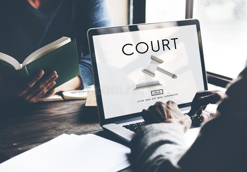 Έννοια νομικής διαταγής νόμου δικαστών εγκλήματος αρχής δικαστηρίου στοκ φωτογραφίες με δικαίωμα ελεύθερης χρήσης