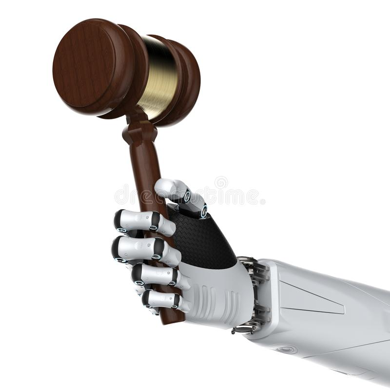 Έννοια νόμου Cyber ή νόμου Διαδικτύου ελεύθερη απεικόνιση δικαιώματος