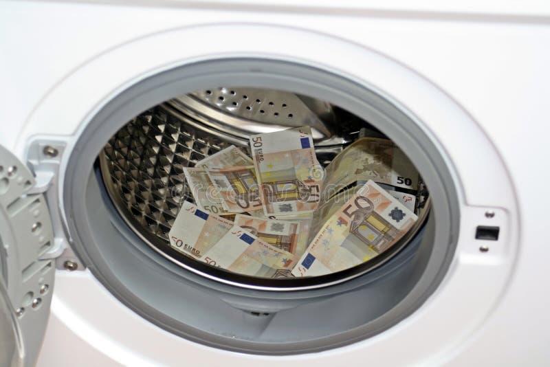 Έννοια ξεπλύματος χρημάτων στοκ φωτογραφία