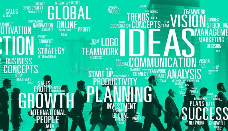 Έννοια οράματος έμπνευσης γνώσης δημιουργικότητας καινοτομίας ιδεών στοκ εικόνες