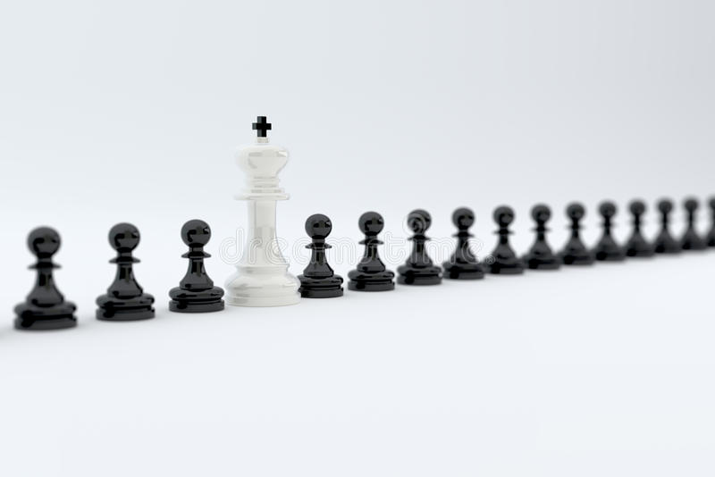 Έννοια σειρών σκακιού ελεύθερη απεικόνιση δικαιώματος