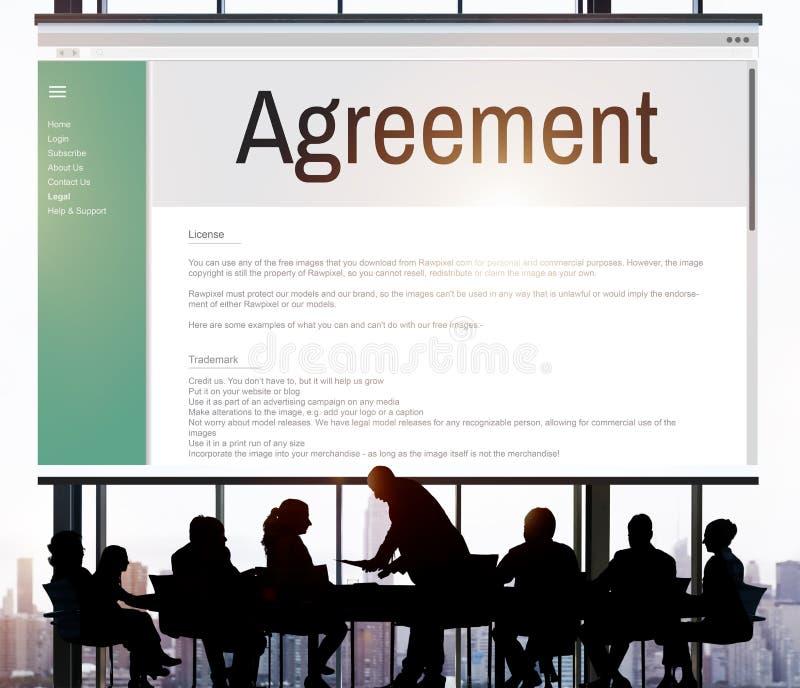 Έννοια συνεργασίας διαπραγμάτευσης συνεργασίας συμμαχίας συμφωνίας στοκ φωτογραφίες με δικαίωμα ελεύθερης χρήσης