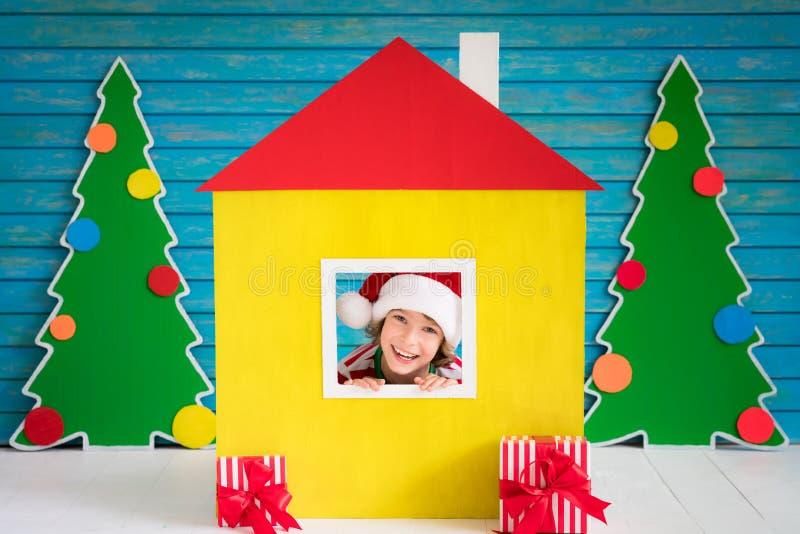 Έννοια σχεδίου εγχώριων διακοπών Χριστουγέννων στοκ φωτογραφία με δικαίωμα ελεύθερης χρήσης