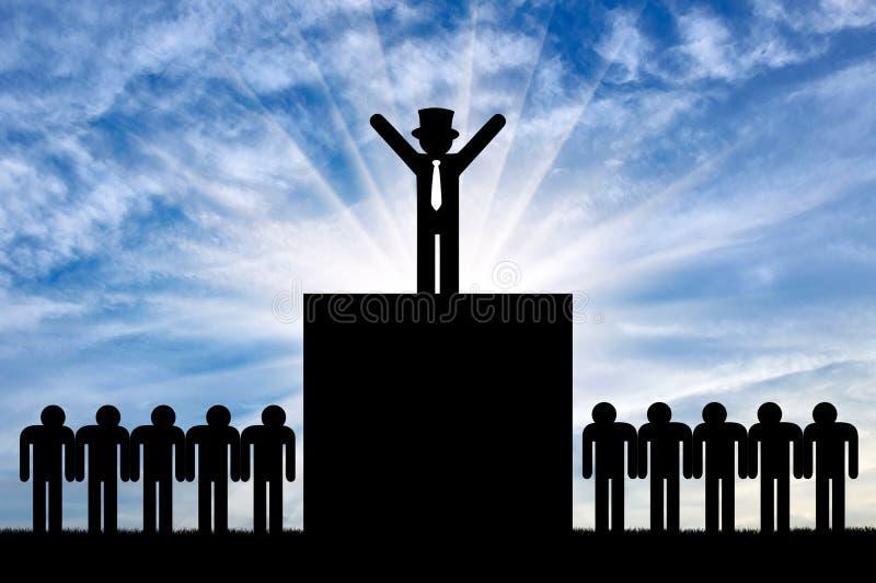 Έννοια της ανισότητας απεικόνιση αποθεμάτων